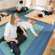shiatsu treatment floor