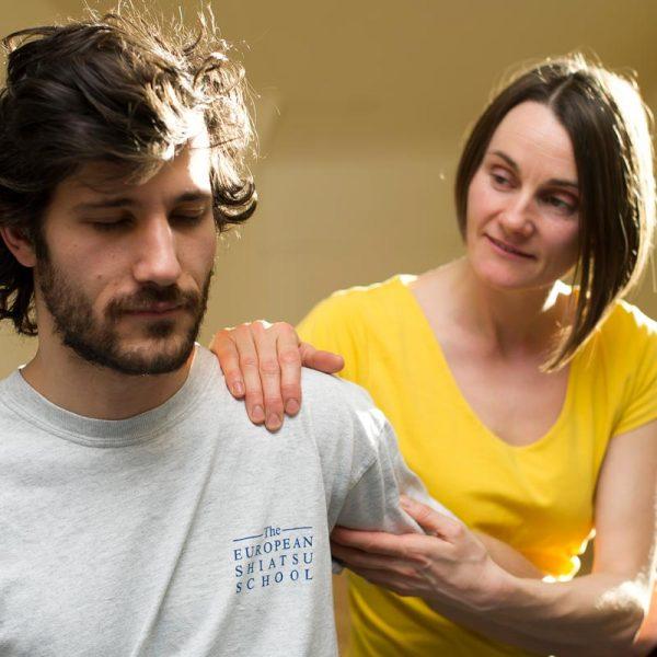 shiatsu treatment shoulders Donna Armstrong